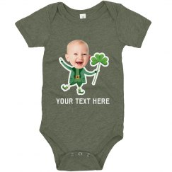 Cute Leprechaun Upload Onesie