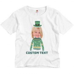 Little Leprechaun Custom Upload Tee