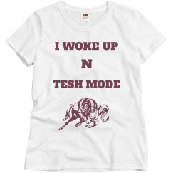 Tesh mode aries shirt grey/maroon