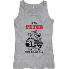 Peter can fix it!