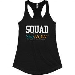 SheNOW Ambassador SQUAD Tank