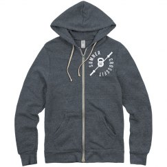 SCF ladies zip up