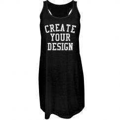 Create a Custom Racerback Dress