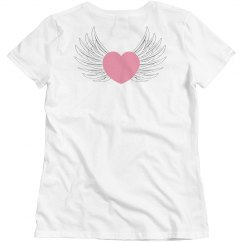 Pink Heart Wings