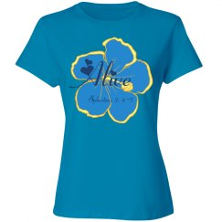 ALIVE - Ephesians 2: 4-5 - Ladies Junior Fit Tee