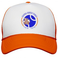 SA TX logo two orange hat
