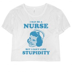 Can't Cure Stupidity