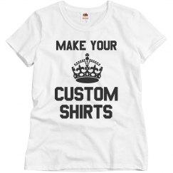 Custom Basic Sale Shirts