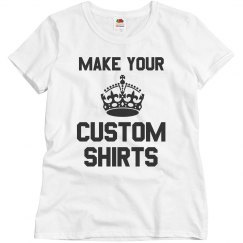 Make Your Own Custom Shirts