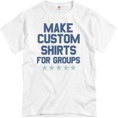 Custom Shirts in Bulk