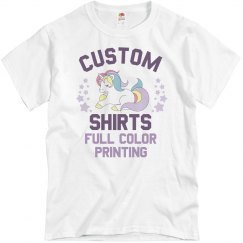 Custom Shirts Full Color Printing