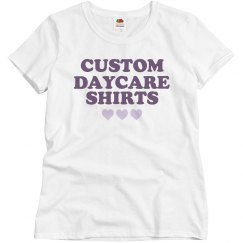 Custom Daycare Shirts for Teachers