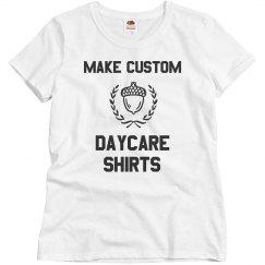 Custom Daycare Acorn Tees