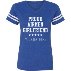 Custom Airmen Girlfriend Top