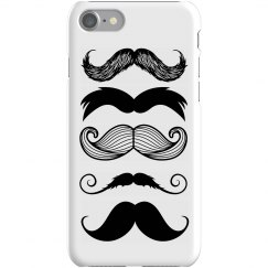 Multi-stache iPhone Case