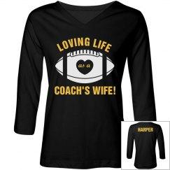 Loving Coach's Wife