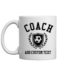 Custom Soccer Coach Dad Gifts