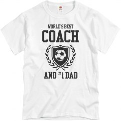 World's Best Coach And Soccer Dad