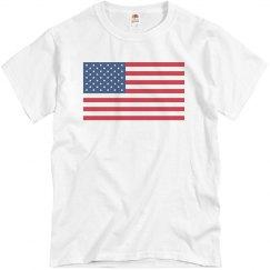 The USA American Flag
