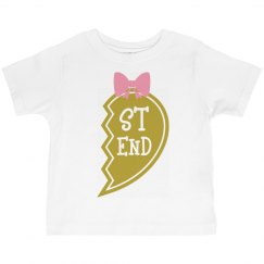 Mommy and daughter matching tee