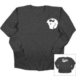 Bridgeport bulls long sleeve shirt.