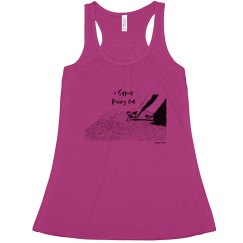 I Support Pulling Out - Women - Flowy Racerback Tank