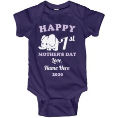 Cute Custom 1st Mother's Day