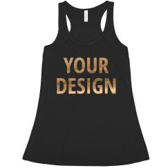 Custom Metallic Bachelorette Tanks