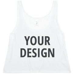 Personalized Spring Fashion Crop