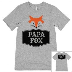 MATCHING SET Papa Fox Shirt
