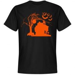 Halloween Manor Unisex Tee