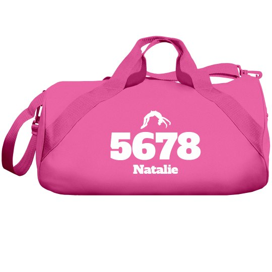 5678 Cheer Gear Bag With Custom Name Option