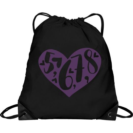 5-6-7-8 cinch bag