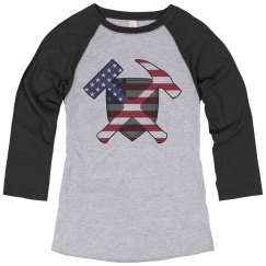 Hammer and Shield- American Flag