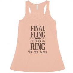 Custom Date The Final Fling