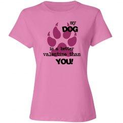 Dog is my Valentine!