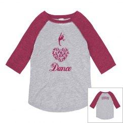 I Heart Dance Youth Shirt