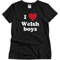 I love Welsh boys