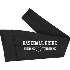Custom Baseball Bride Tights