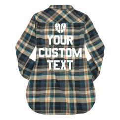 Custom Basketball Flannel
