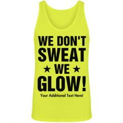 Glow Run 5K Neon Custom Text