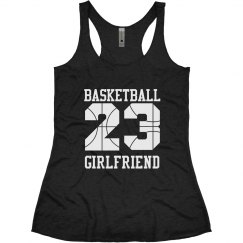 Trendy Basketball Girlfriend With Custom Numbers