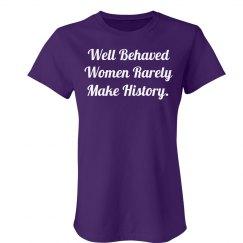 Rarely Make History