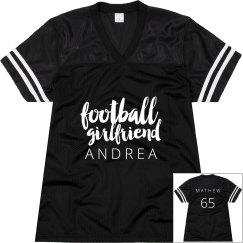 Custom Football Girl