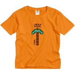 KIDS: Pick Lincoln Minecraft Tee