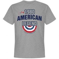 1980 american legend shirt