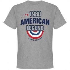 1980 american legend shirt