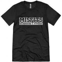 White Misfits Logo T-shirt