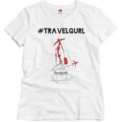 Travelgurl tee