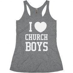 I Love Church Boys